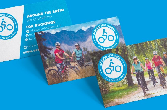 Around The Basin Marketing Collateral Logo Identity Design Thumb