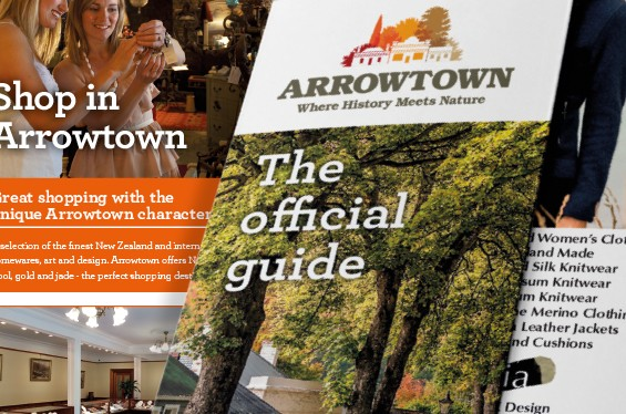 Arrowtown Official Guide Booklet Thumb