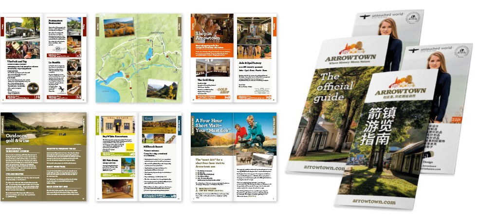 Arrowtown Official Guide Booklet
