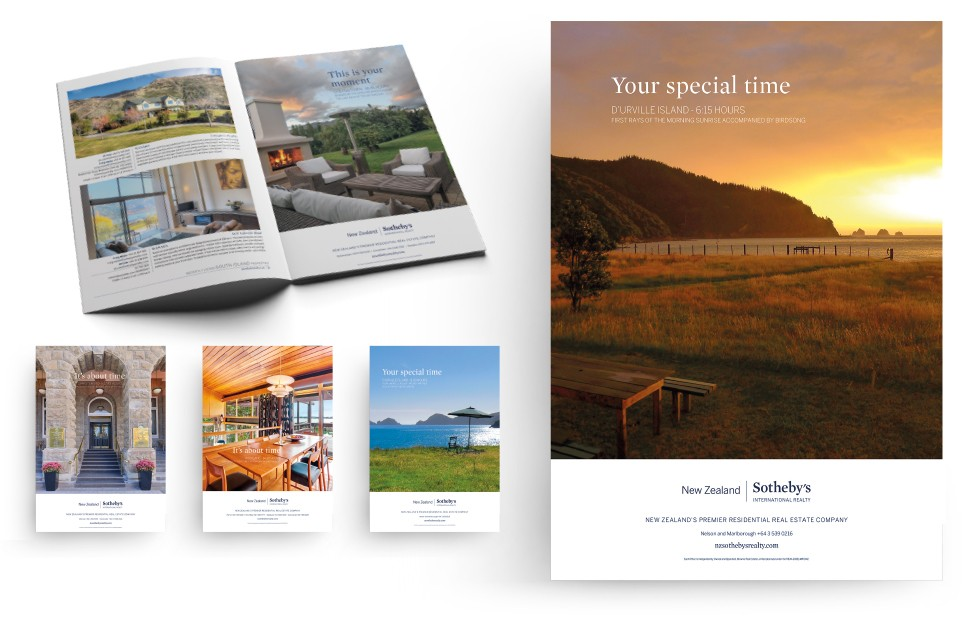 New Zealand Sotheby's international Realty Moments Campaign