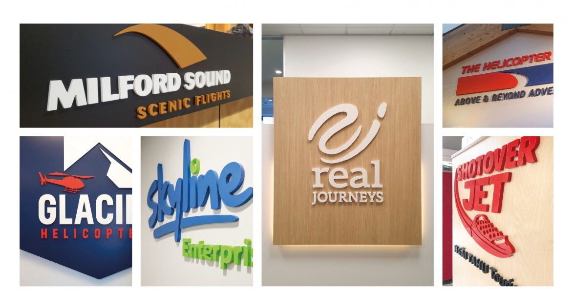 3D Signs: Signage of Multiple Sizes and a Variety of Finishes
