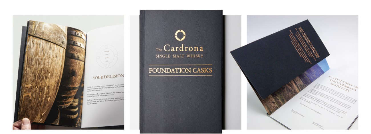 Cardrona Distillery Whisky Gold Foiled
