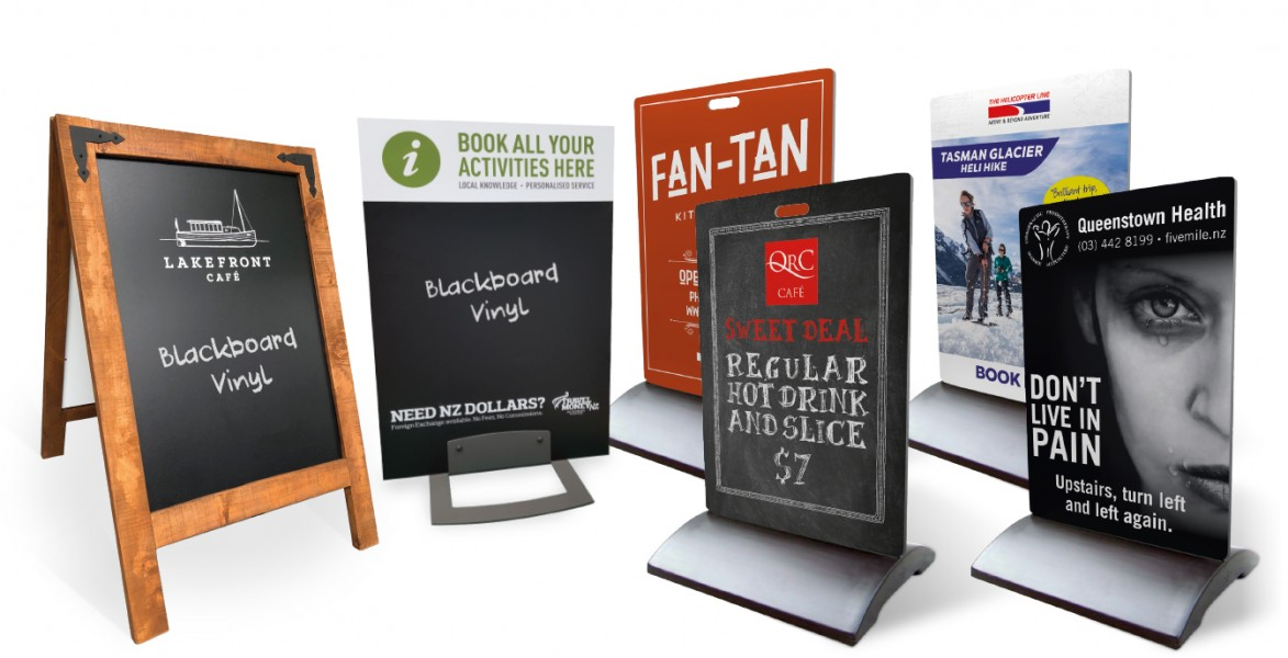 Pavement Signs (Multiple Options and Shapes)