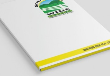 Presentation Folders with Spine